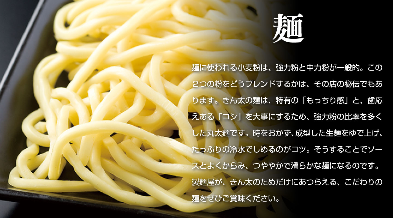 きん太のこだわり-麺